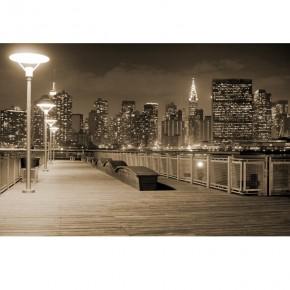 Fototapeta New York - pomost