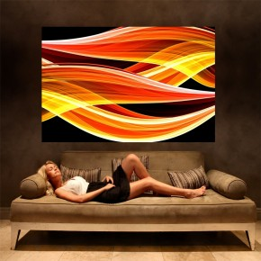 Fototapeta płomienie | fototapeta abstrakcja