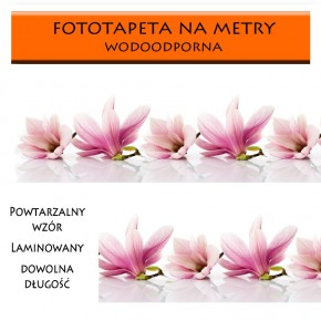 Fototapeta magnolie między meble