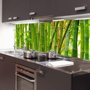 Fototapeta bambus kuchnia