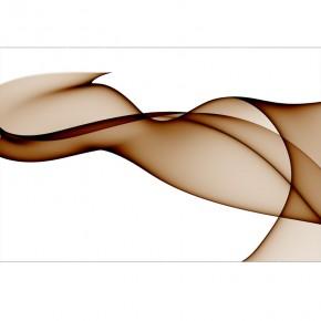 Fototapeta brązowy woal | abstrakcja