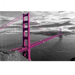Fototapeta różowy most Golden Gate