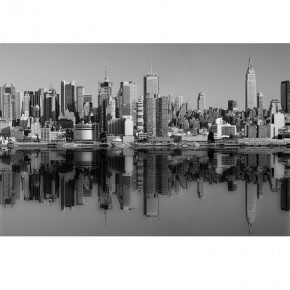 Fototapeta Manhattan czarono biała | Fototapety New York
