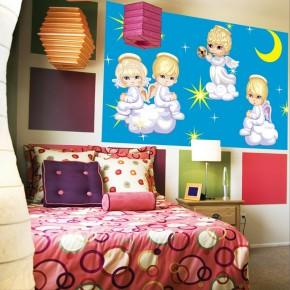 Fototapeta aniołki dla dzieci