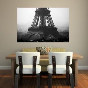 Fototapeta dachy Paryża