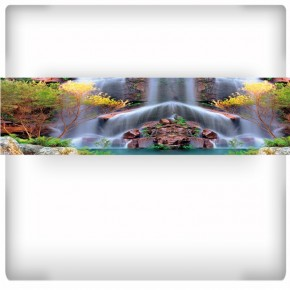 Fototapeta wodospad - panoramiczna