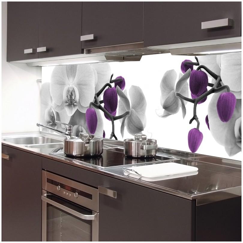 fototapeta storczyki do kuchni