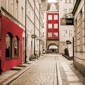 Fototapeta Stylowa uliczka