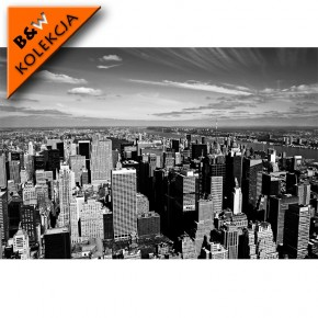 Fototapeta z lotu ptaka nad Nowym Jorkiem