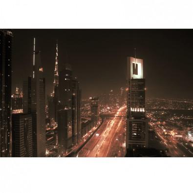 Fototapeta Abu Dhabi nocą - Arabia Saudyjska