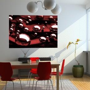 Fototapeta czerwone bąble