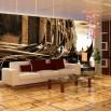 Aranżacja salonu - fototapeta weneckie gondole