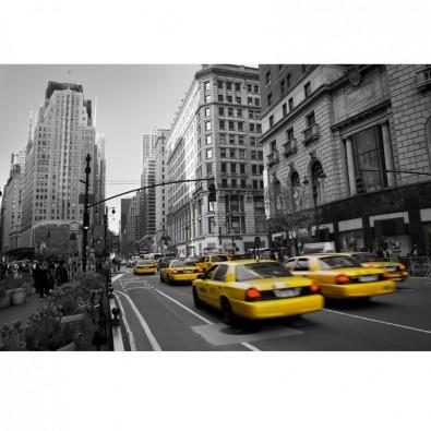 Fototapeta nowojorska taksówka Yellow Cab