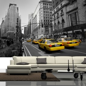 Fototapeta Yellow Cab