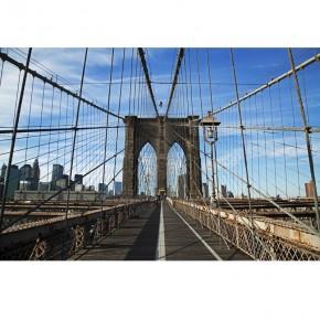 Fototapeta linowy most Brookliński