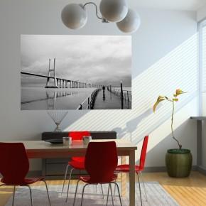 Fototapeta pochmurny most Vasco da Gama