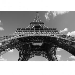 Fototapeta wieża Eiffla czarno biała