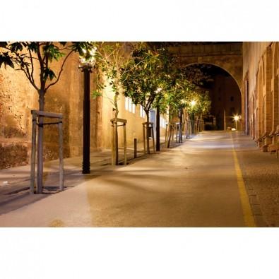 Fototapeta kamienice nocą   fototapety uliczki