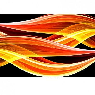 Fototapeta języki ognia