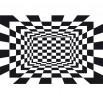 Fototapeta szachownica czarno biała