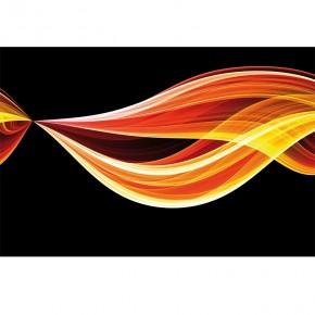 Fototapeta płomienny ogień
