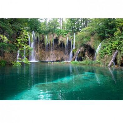 Fototapeta turkusowe jeziorko