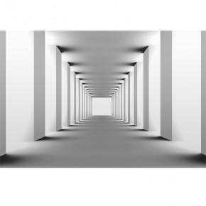 Fototapeta przestrzenna - nowoczesny tunel