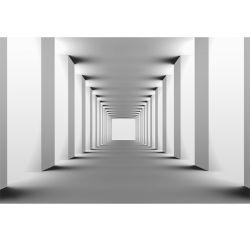 Nowoczesny tunel | Fototapeta powiększająca wnętrze