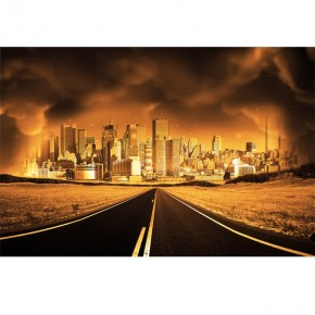 Fototapeta miasto gniewu