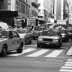 Fototapeta Madison Avenue czarno biała