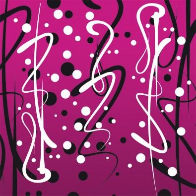 Fototapeta różowa abstrakcja