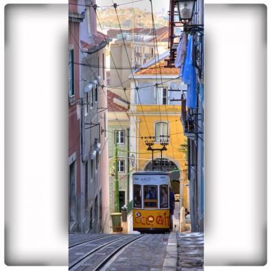 Fototapeta tramwaj Lizbona