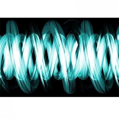 Fototapeta turkusowa spirala