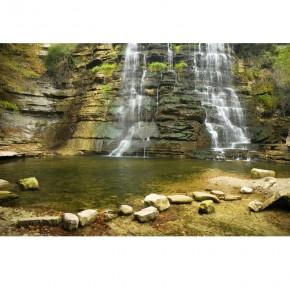 skalisty wodospad