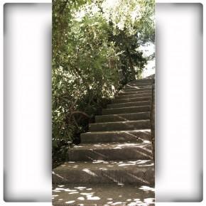 betonowe schody
