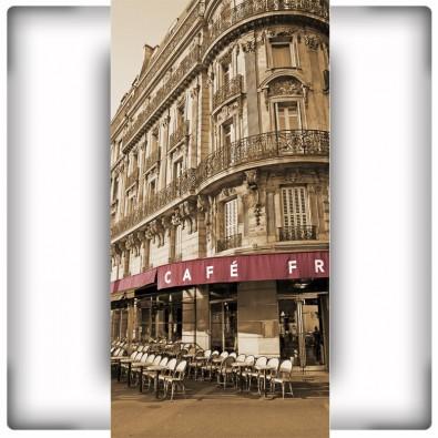 Fototapeta francuska kawiarnia