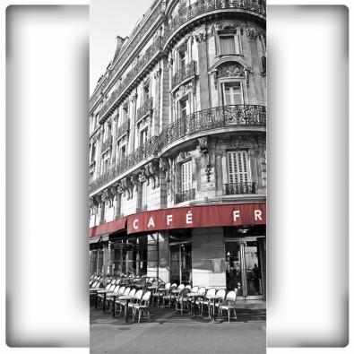 Fototapeta paryska kawiarnia