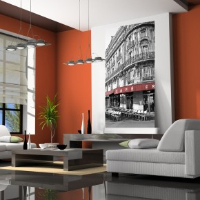 Fototapeta Paryż kawiarnia