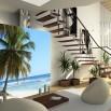 Tapeta palma na plaży