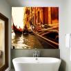 Fototapeta Gondolierzy - aranżacja w łazience