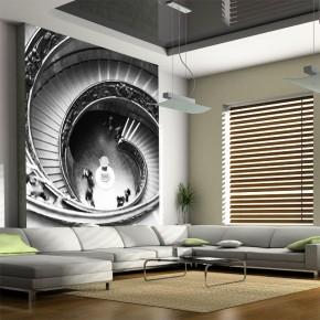Kręcone schody | Fototapeta powiększająca wnętrze