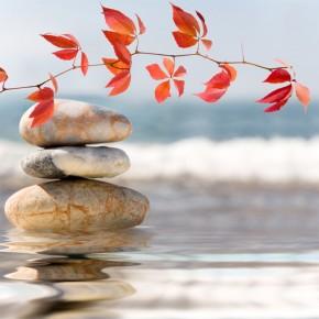 kamienie na wodzie