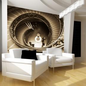 Fototapeta spiralne schody