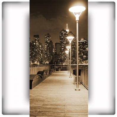 Fototapeta lampy na pomoście