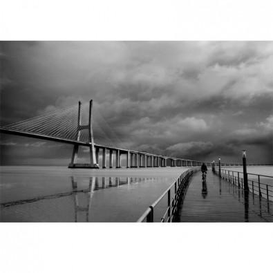 Fototapeta głębia mostu
