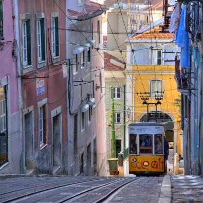 Fototapeta tramwaj Portugalia
