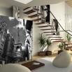 Fototapeta wieża Eiffla na ścianie salonu