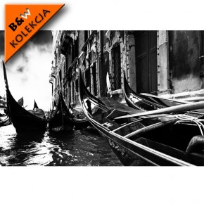 Fototapeta Wenecja czarno biała