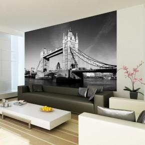 Fototapeta Londyn Czarno biała