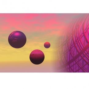 różowy kosmos